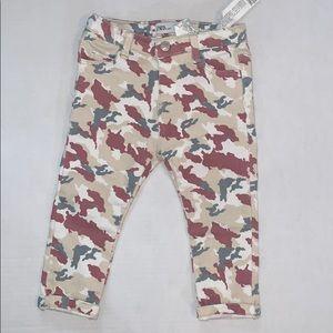 Zara Baby Camo Jeans